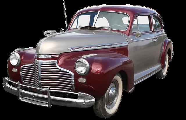 starý Chevrolet