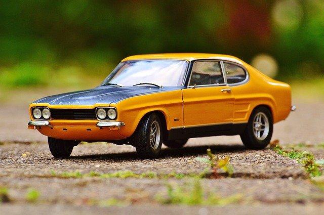model starého Fordu
