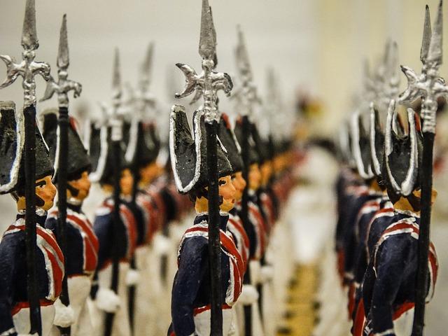 modely vojáčků