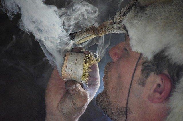 kouřící Viking