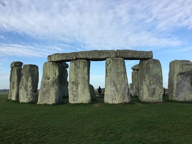 kamenný stonehenge