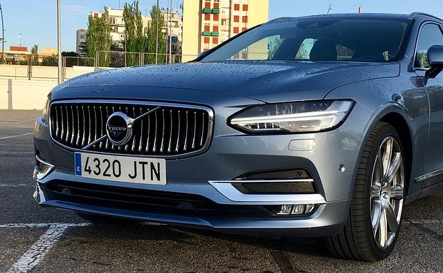 nové Volvo