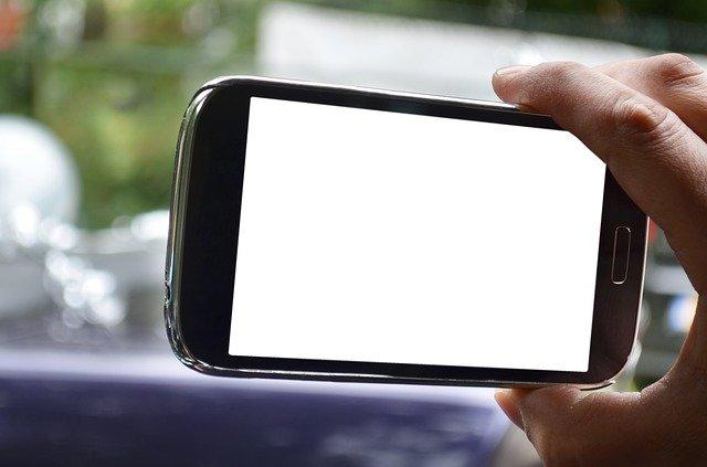 smartphone focení