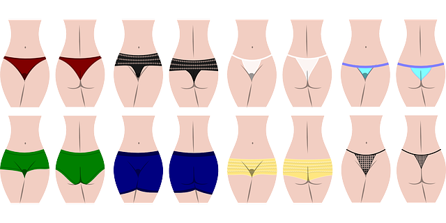 druhy kalhotek