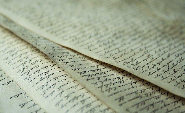 popsané listy